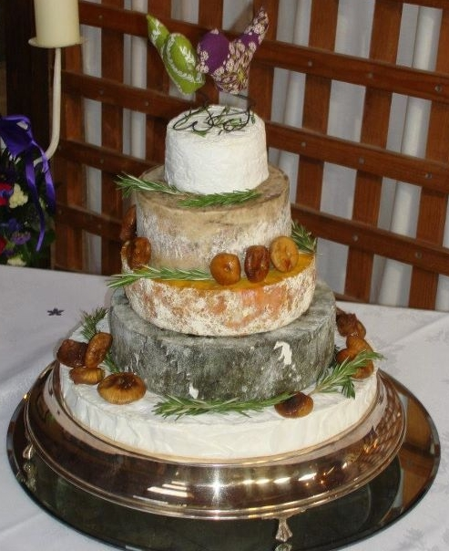 Clifton Cheese Wedding Cake